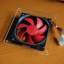 9cm to 12cm Fan Adapter Acrylic Mounting Kit
