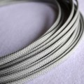 Deluxe High Density Weave Grey Silver Cable Sleeve (4mm)