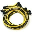 Seasonic Platinum Premium Modular Cables (Black and Yellow)