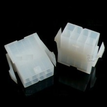 8-Pin Motherboard Power Male Connector - Transparent White