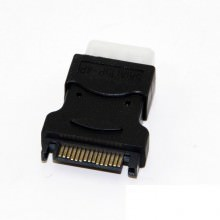 15-Pin SATA to 4-Pin Molex Connector (Hot-Plug Support)