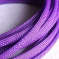 Deluxe High Density Weave Purple Cable Sleeve (6mm)