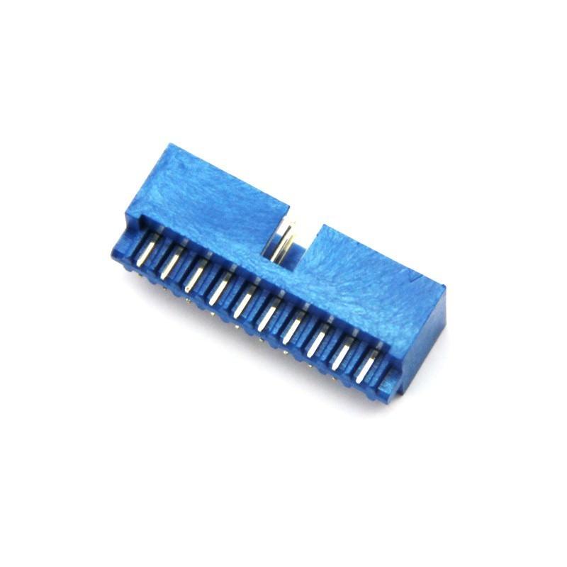 Usb pin idc connector male moddiy