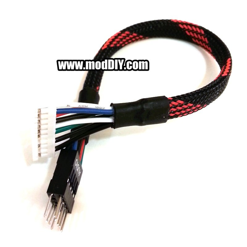 creative sound card 5 1 7 1 front panel audio cable (20cm)