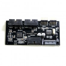 USB 3.0 Motherboard Header 20 Pin Internal USB Hub Controller 4 Port