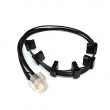 EVGA 850 G2L Premium Single Sleeved Modular Cable (6 x 4-Pin Molex)