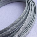 Deluxe High Density Weave Grey Silver Cable Sleeve (12mm)
