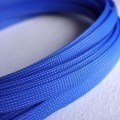 Deluxe High Density Weave Blue Cable Sleeve (10mm)