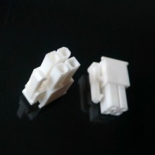 4-Pin Motherboard Power Female Connector - White