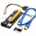 Premium True USB 3.0 1x to 16x PCI-E Extender Riser Card Adapter Cable
