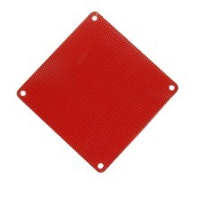 Ultra Thin 0.45mm PVC Computer Fan Dust Filter (8cm/12cm/14cm) - Red