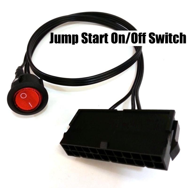 Jump Start Eps  Atx 24 Pin Power Supply Jumper On  Off