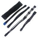 Silverstone SST-ST45SF-G Premium Single Sleeved Modular Cables Set (Black)