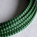 Deluxe PET PP Cotton Braided Sleeving (Green 12mm)