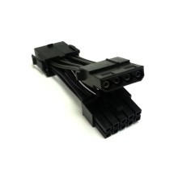 Dell C1100 Server 10-Pin Extension Cable + 4-Pin Molex Splitter Cable