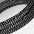Deluxe PET PP Cotton Braided Sleeving (Grey 4mm)