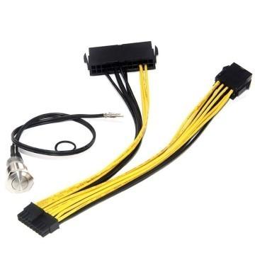 Dell C6100 Server L5639 L5520 24+8P to Mini 18-Pin Adapter Cable (20cm)
