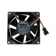 Nidec Beta SL 8025 12V 0.06A Ultra Silent 80mm Cooling Fan D08A-12BL-01B