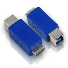 USB 3.0 Micro BM to BF/ High Speed USB3.0 Micro B Male TO B Female