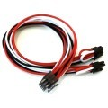 Superflower Premium Single Sleeved 9-Pin to Dual 8pin PCIE Cable (50cm)