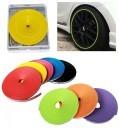 IPA + 3M 94 Car Tuning Vehicle Wheel Rims Protector Tire Guard (Yellow)