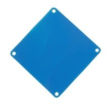 Ultra Thin 0.45mm PVC Computer Fan Dust Filter (8cm/9cm/12cm/14cm) - Blue