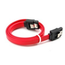 SATA II High Speed Cable with Latch (20cm) Straight to Straight
