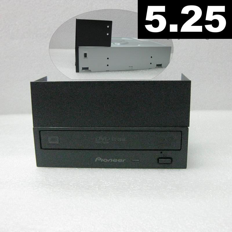 Metal 5 25 Quot Drive Bay Front Panel Cover Black Moddiy Com