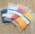 KSS Nylon 66 Red/Yellow/White Cable Tie 2.5 x 100 mm (100 Pack)