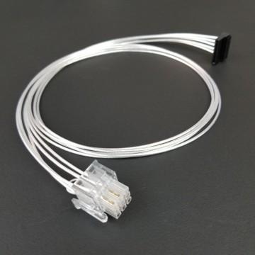 Super Flower Leadex Premium Silver Wire 9-Pin to SATA Modular Cable