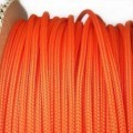 Deluxe High Density Weave Orange Cable Sleeve (3mm)