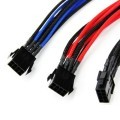 Premium Single Braid 8Pin (4 plus 4) Extension Cable