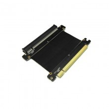 Premium Gold Plated 16x PCI-E Extension Shielded Cable Riser (9cm)