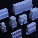 Power Supply White Connectors Set (9pcs)