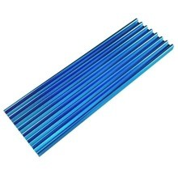 Premium SM951 SM961 950PRO XP9410 M.2 SSD Cooling Heatsink (Blue)