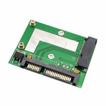 Mini PCIE SATA mSATA to Standard 22 Pin SATA3 Adapter Card Module