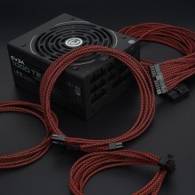 Professional Tailor-Made EVGA Custom Sleeved Modular Cable Kit