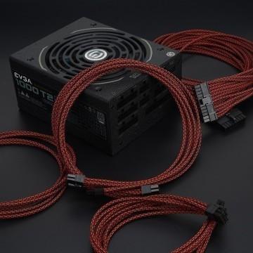 Professional Tailor-Made EVGA Custom Sleeved Modular Cable Kit