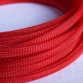 Deluxe High Density Weave Red Cable Sleeve (6mm)