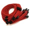 Corsair AX860 Premium Single Sleeved Modular Cables Set (Red)