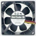 Sanyo 8025 12V 0.38A Cooling Radiator PWM Fan