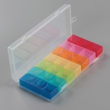 21 Compartment Transparent Plastic Parts Box
