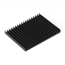 Aavid High Performance Thermalloy Heatsink (101mm x 80mm x 7mm) with Premium Laird Thermally Conductive Adhesive Transfer Back