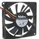 Nidec Ultra Silent 8015 12V 0.07A 80mm Cooling Fan