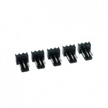 3-Pin Male Fan Connector - Black