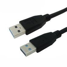 5 Gbps Superspeed USB 3.0 Type-A Male to Type-A Male Cable (Black)