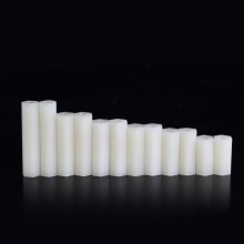Premium Nylon66 M3 Motherboard Hex White Spacer (6mm to 45mm)