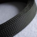 Deluxe High Density Weave Black Cable Sleeve (25mm)