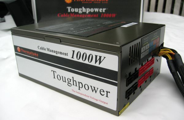 Thermaltake объявила об анонсе 1350-ваттного бп серии toughpower