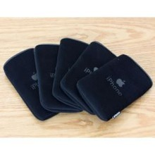 Protective Cloth Bag for iPhone 3G/3GS/4 - Black